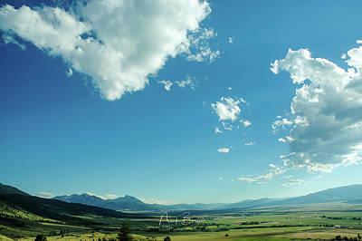 Photograph - Paradise Valley Landscape by Nick Boren