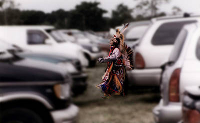 Photograph - Paradox At The Pow Wow by Wayne King