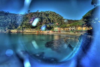 Photograph - Paraggi Beach Portofino Park Passeggiate A Levante by Enrico Pelos