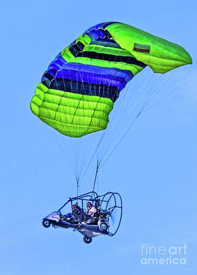 Photograph - Paraglider by Robert Bales
