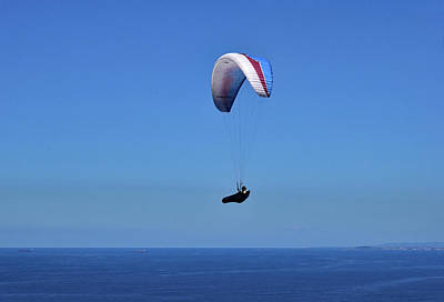 Photograph - Paragliding No. 2-1 by Sandy Taylor