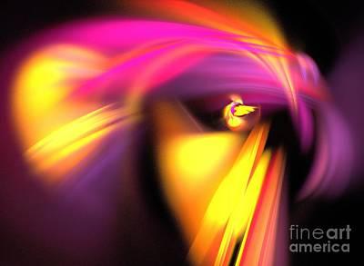 Parakeet Digital Art - Parakeet by Kim Sy Ok