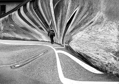 Abstract Women Photograph - Parallel Universe by Wayne Pearson