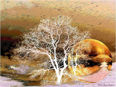 Photograph - Parallel Worlds by Joyce Dickens