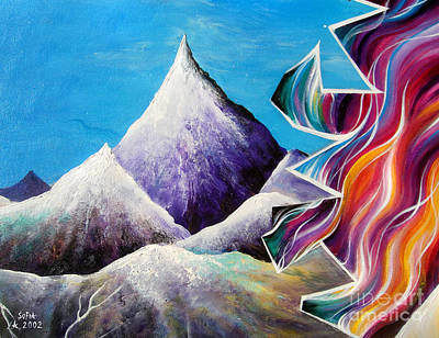 Parallel World Painting - Parallel Worlds - Part 2 by Sofia Metal Queen