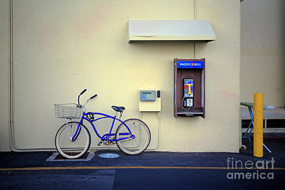 Photograph - Paramount Backlot Bicycle by Craig J Satterlee