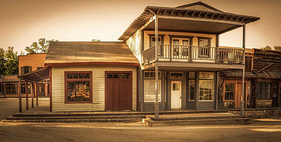 Photograph - Paramount Ranch Agoura Hotel - Panorama by Gene Parks