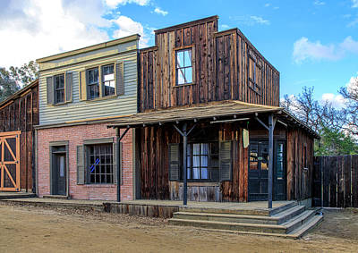 Photograph - Paramount Ranch Bank by Gene Parks