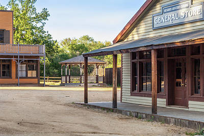 Photograph - Paramount Ranch General Store by Gene Parks