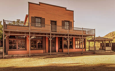 Photograph - Paramount Ranch Saloon by Gene Parks