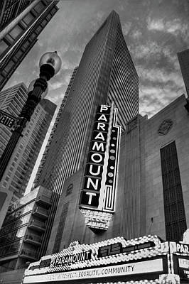 Photograph - Paramount Theatre - Boston Theatre District by Joann Vitali