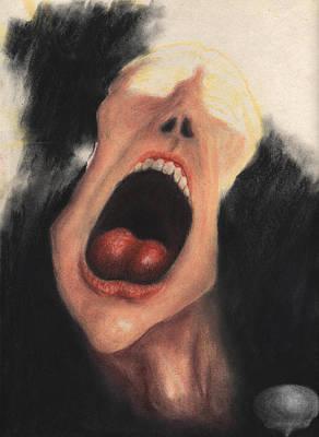 Paranoia Art Print by KJA Stone