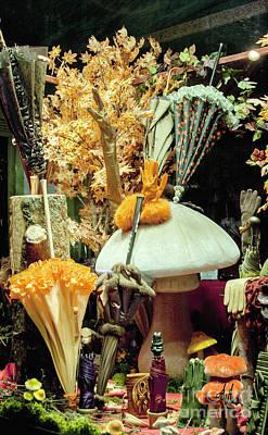 Photograph - Parapluies by Victoria Harrington