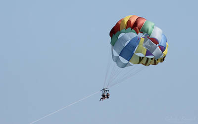 Photograph - Parasailing Ocean City Maryland by Robert Banach