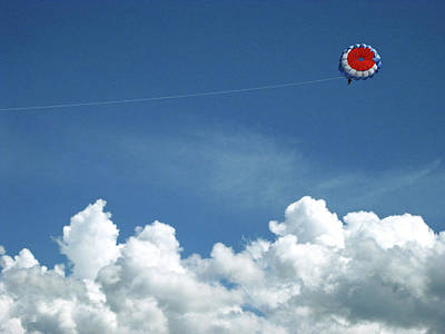 Photograph - Parasailing by Sandy Taylor