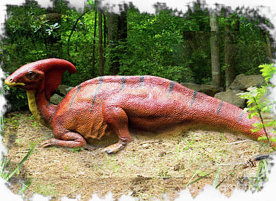 Photograph - Parasaurolophus by Sandra Clark