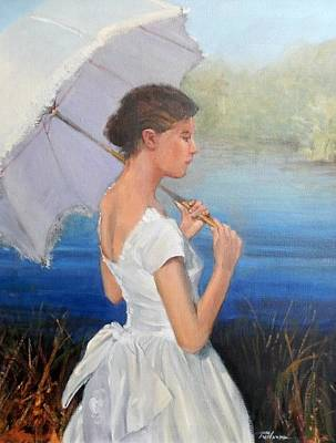 Painting - Parasol by Ron Wilson
