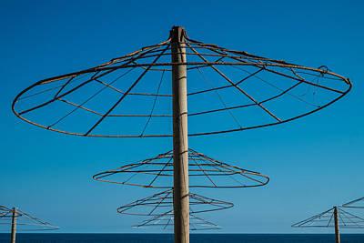 Photograph - Parasols by Piet Scholten