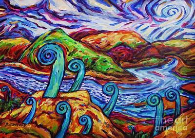 Painting - Paratawhiti At Oruru River by Dianne  Connolly