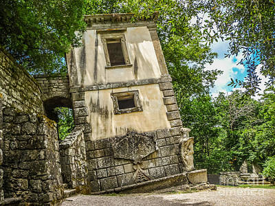 Parco Dei Mostri, Park Of The Monster, In Bomarzo Art Print by JR Photography