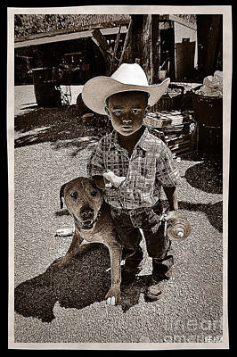 Photograph - Pardner by Mayhem Mediums