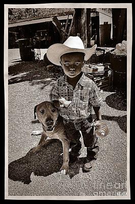 Photograph - Pardner by Mayhem Mediums