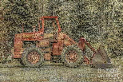 Heavy Equipment Digital Art - Pardon The Appearance Will Work For Fuel by Randy Steele