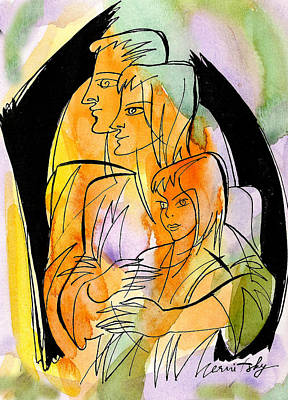 Parenting And Caring Original by Leon Zernitsky