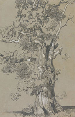 Drawing - Parham, October 13, 1834 by Edward Lear