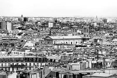 Photograph - Paris City View Vii by John Rizzuto