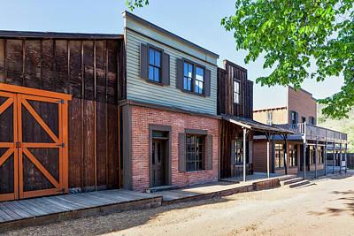 Photograph - Parimount Ranch Bank by Gene Parks