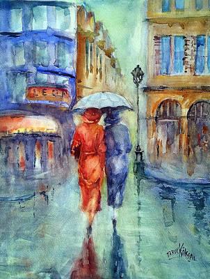 Painting - Paris 1934 by Faruk Koksal