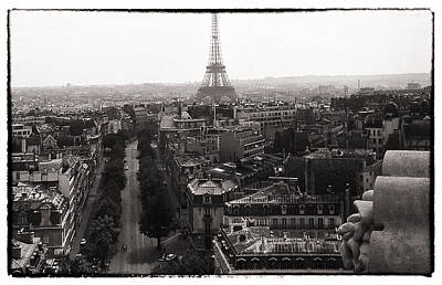 Photograph - Paris 1966 by Steve Archbold