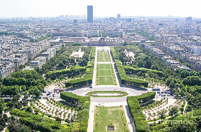 Paris Skyline Royalty-Free and Rights-Managed Images - Paris 2 by Andrea Anderegg
