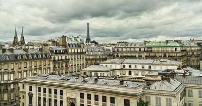 Seurat Photograph - Paris 3 by Janet Fikar