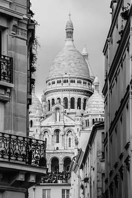 Sacre Coeur Photograph - Paris by Anna Matveeva