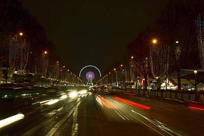 Photograph - Paris At Christmas Time by Mark Harrington