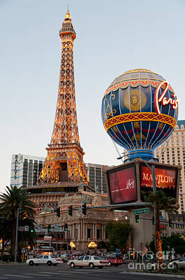 Nevada Photograph - Paris At Dusk by Andy Smy