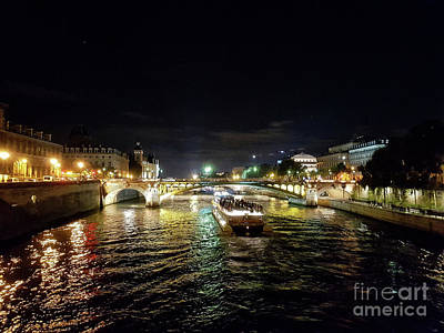 Photograph - Paris At Night by Lynn Bolt