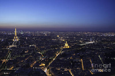 Photograph - Paris At Night by Patricia Hofmeester