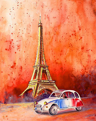 Painting - Paris Authentic by Miki De Goodaboom