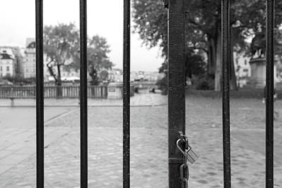 Photograph - Paris Behind Bars by Jean Gill