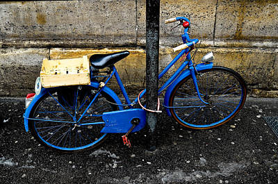 Photograph - Paris Bicycle I by M G Whittingham