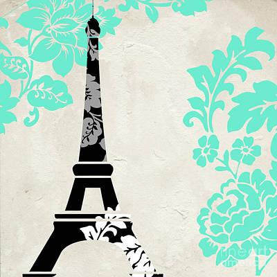 Paris Painting - Paris Blues by Mindy Sommers