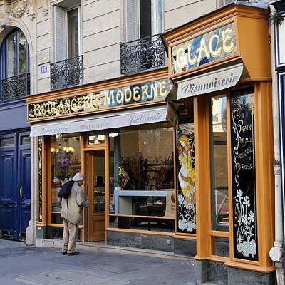 Boulangerie Photograph - Paris Boulangerie 1 by Andrew Fare