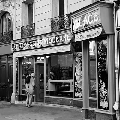Boulangerie Photograph - Paris Boulangerie 1b by Andrew Fare