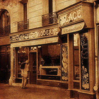 Photograph - Paris Boulangerie 1c by Andrew Fare