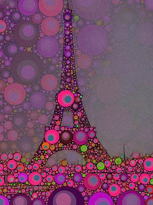 Impressionism Digital Art - Paris by John Springfield by Esoterica Art Agency