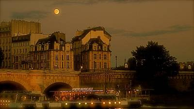 Photograph - Paris By Night II by Louise Fahy