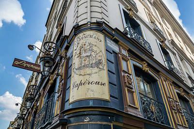 Photograph - Paris Cafe Charm - Paris, France by Melanie Alexandra Price
